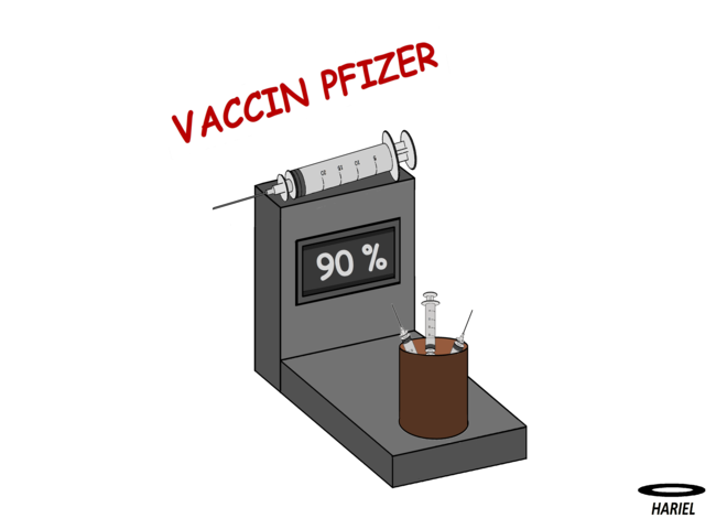 Le vaccin Pfizer efficace à 90 % : pas de confirmation par les revues spécialisées et l'OMS