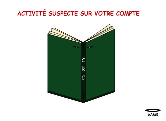 Fiction – Activité suspecte sur votre compte