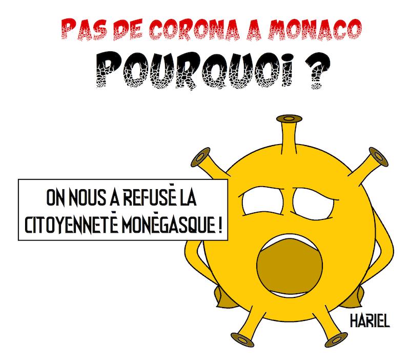 Covid-19 et Monaco par Hariel
