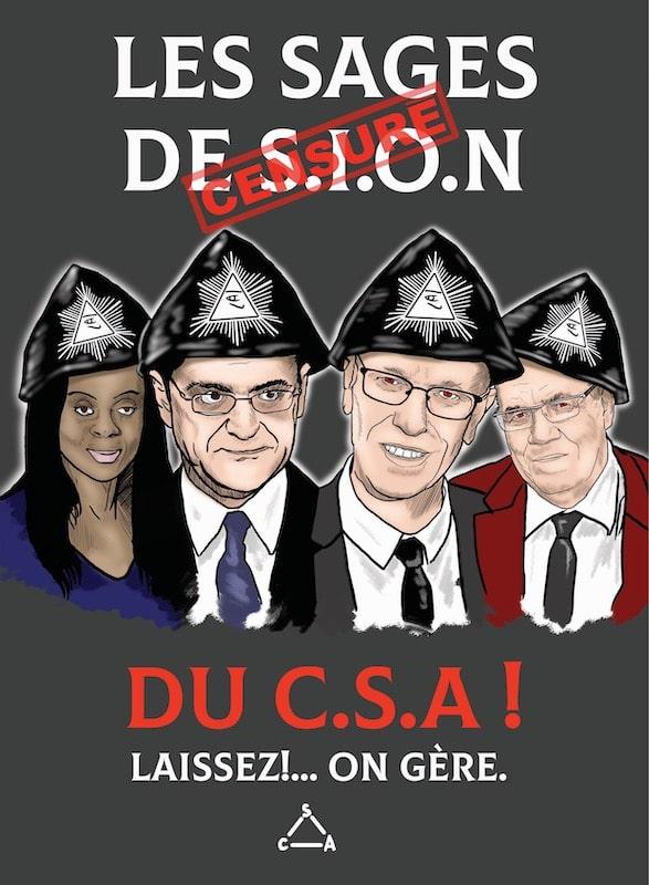 Les sages du CSA par Pierre Arthur