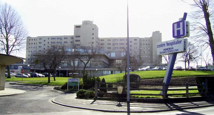 Hôpital de Saint-Lô par David Crochet