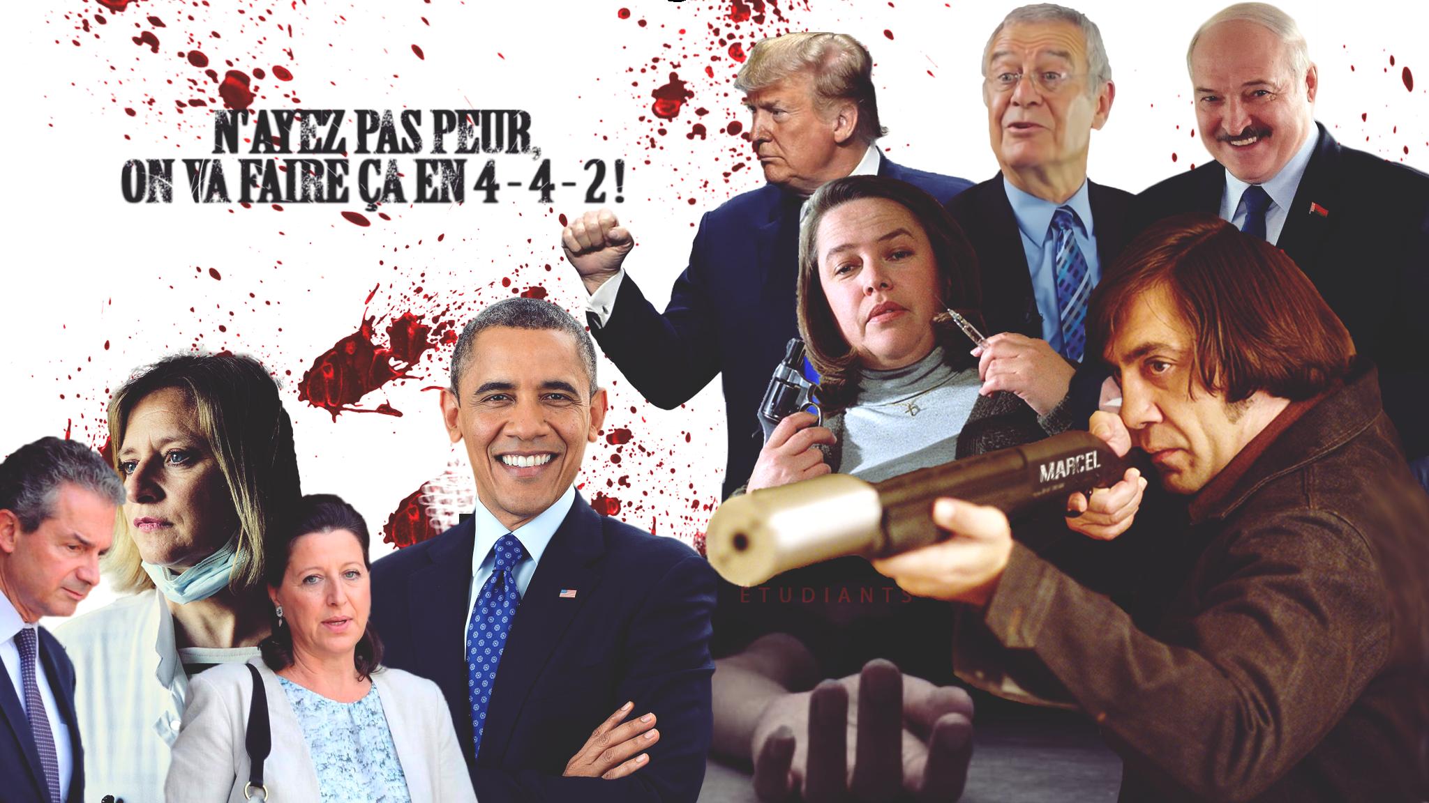 Marcel revient en 4-4-2, tout y passe : Obama, Loukachenko, Karine Lacombe, Fourtillan, les étudiants…