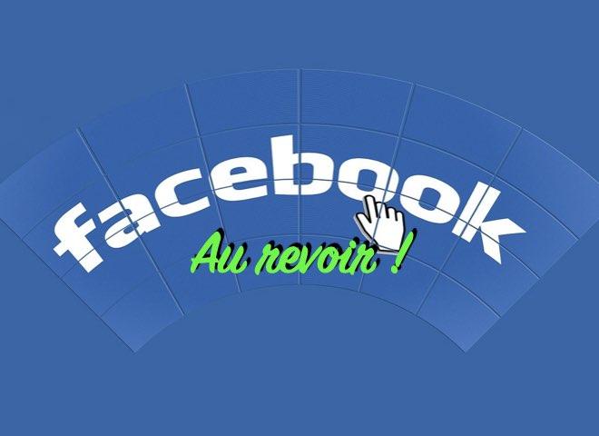Comment faire pour supprimer définitivement Facebook de votre vie