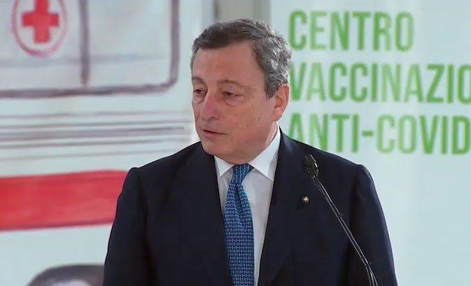 Mario Draghi, sanction pour le personnel soignant