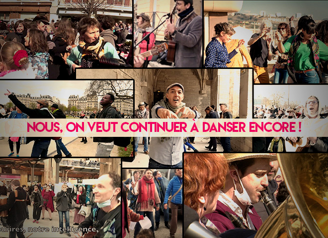 « Danser encore » l'hymne de HK qui envahit toutes les villes de France (et d'ailleurs)