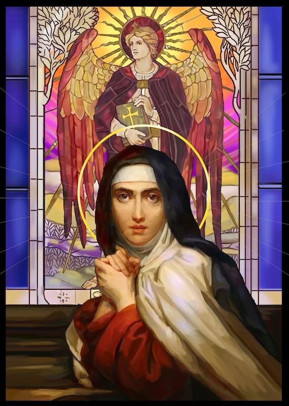 Ste Thérèse d'Avila par Pierre-Arthur