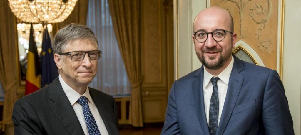 Alexander de Croo et Bill Gates