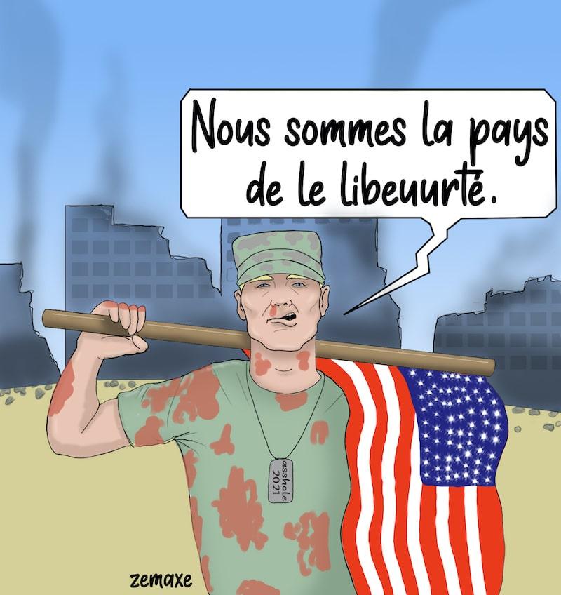 Soldat américain par Zemaxe