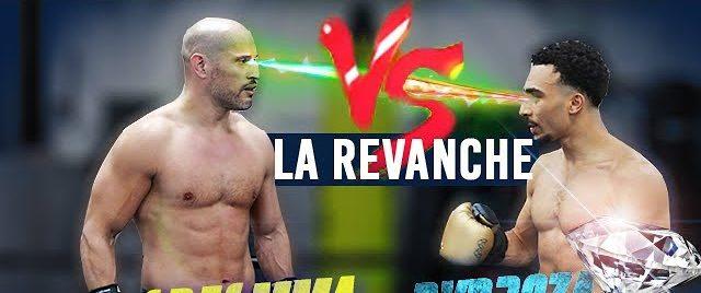 Combat entre GregMMA et Alexis Nicolas spécialiste de savate boxe française