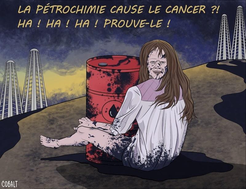 La pétrochimie cause le cancer ? par Cobalt