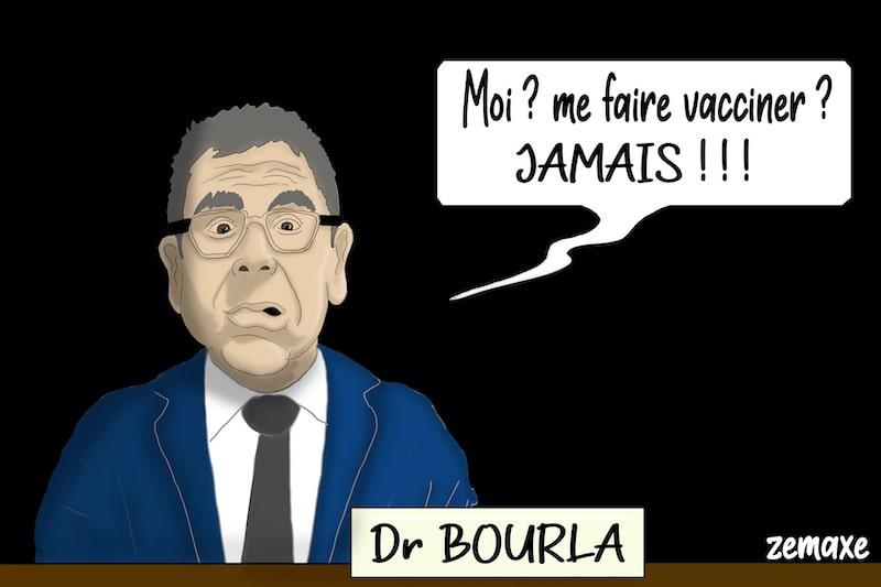 Albert Bourla, PDG de Pfizer par Zemaxe