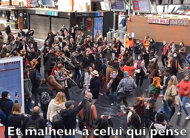 « Danser encore » à la gare de l'Est, cette fois…