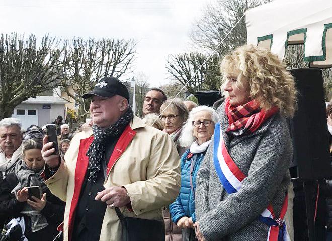 Martine Wonner et Carlo Brusa : compte-rendu de manif à Quimperlé le 11 avril