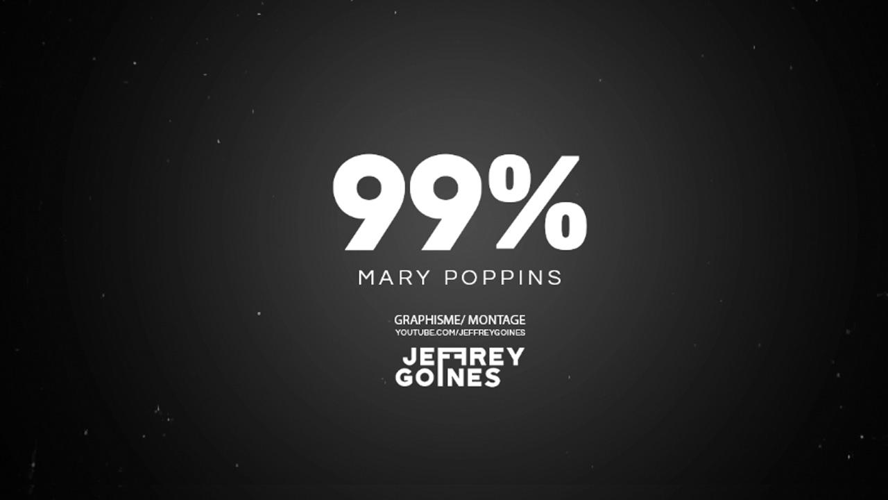 En chanson avec le 4-4-2 « Les 99 % »