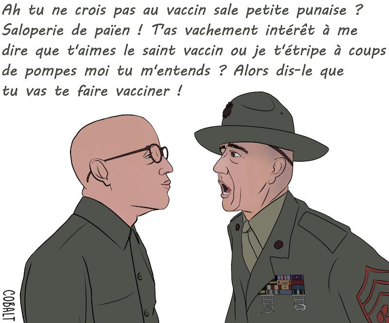 Marines et vaccin par Cobalt