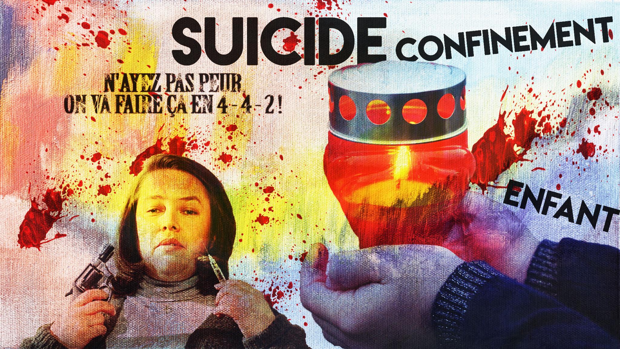Marcel en 4-4-2 sur le suicide des enfants et le silence des médias