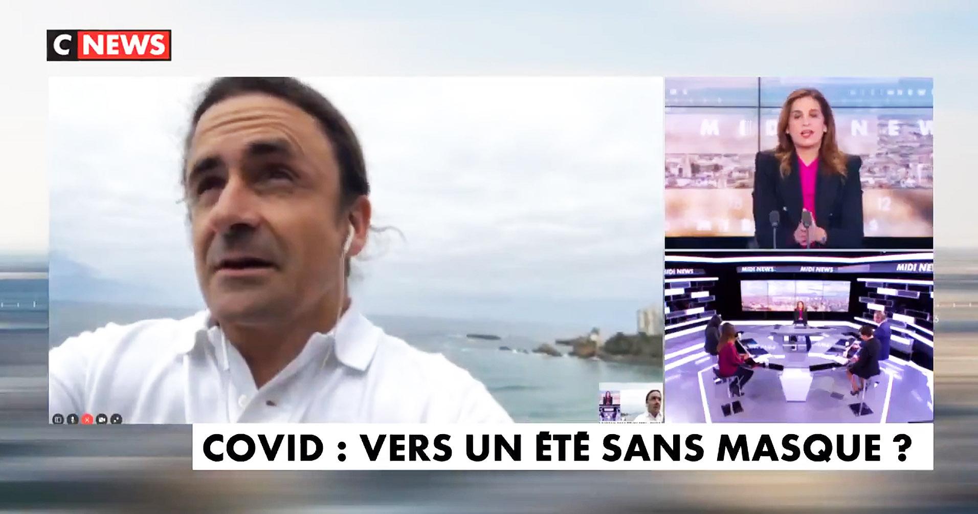 Le Dr Guillaume Barucq sur CNews : «Le port du masque, ça ne sert absolument à rien !»