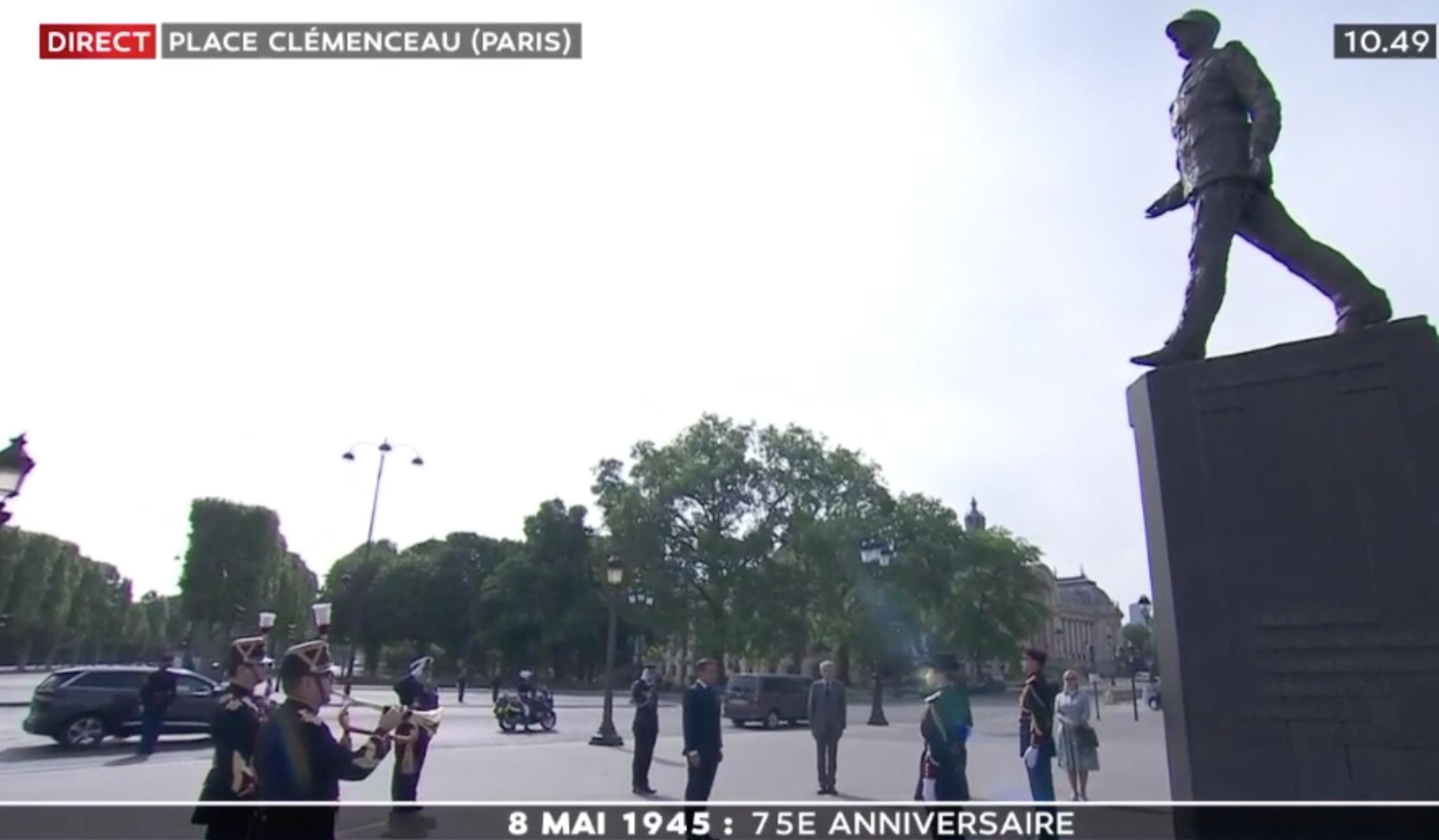 De Gaulle Macron