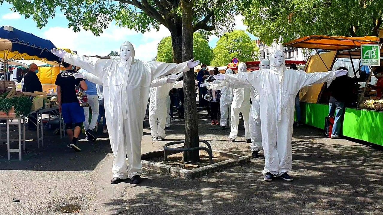masques blancs Nantes 3