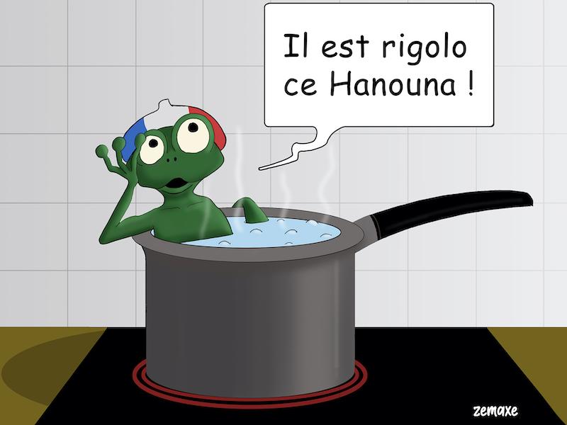Hanouna par Zemaxe