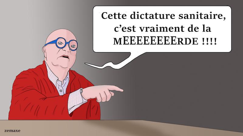 Jean-Pierre Coffe par Zemaxe