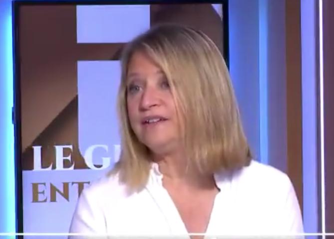 Karine Lacombe recommande la vaccination des enfants