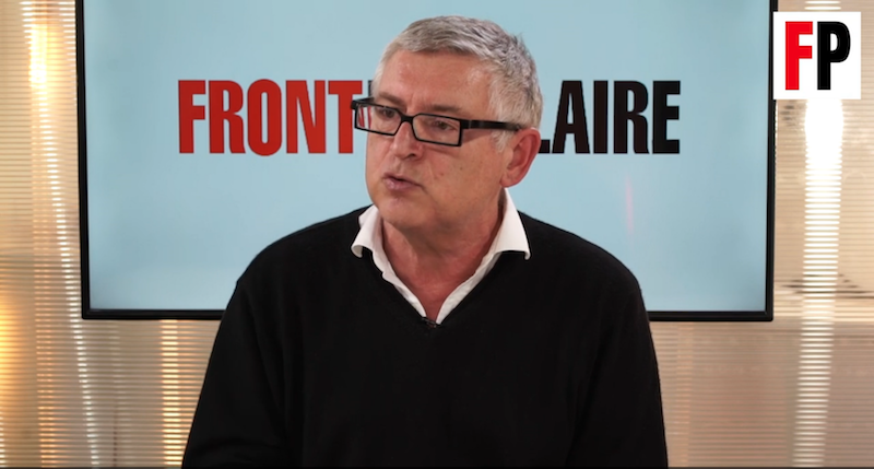 """Michel Onfray ose qualifier d'enfants-rois ceux qui refusent le """"vaccin"""""""