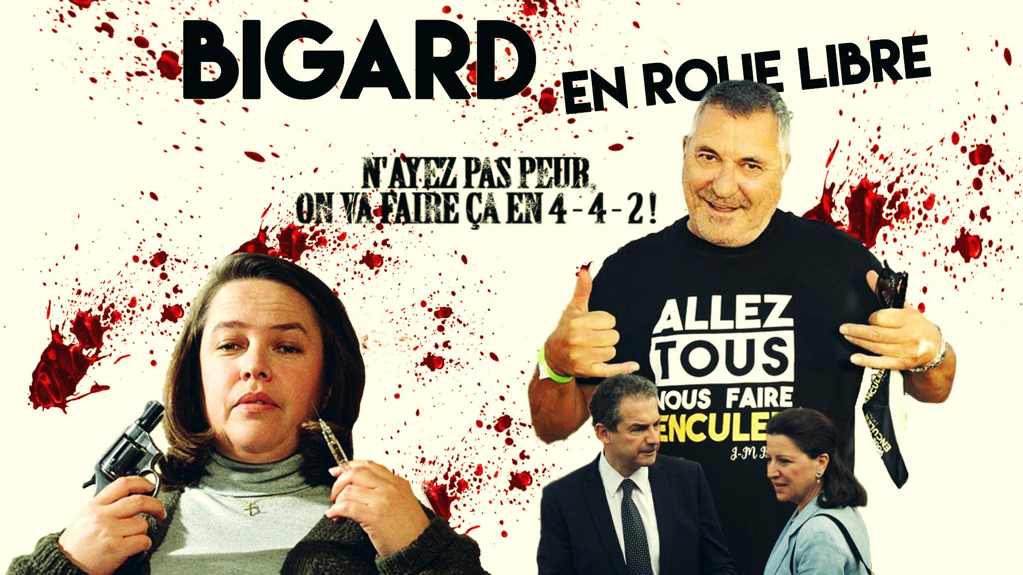 Marcel D. en 4-4-2 pour soutenir Jean-Marie Bigard