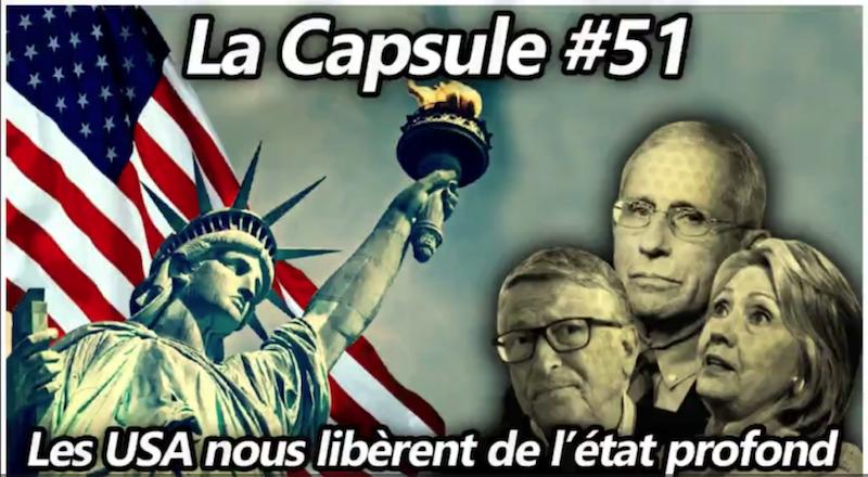 La Croix du sud : Capsule #51 - Les USA nous libèrent de l'État profond