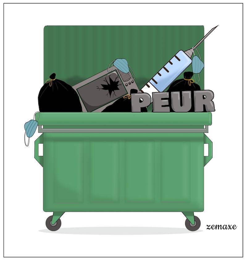 Benne à ordures par Zemaxe