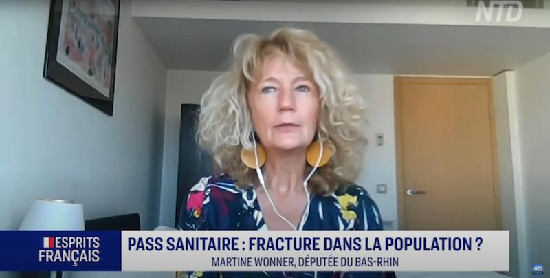 Martine Wonner sur le Pass Sanitaire : fracture dans la population ?