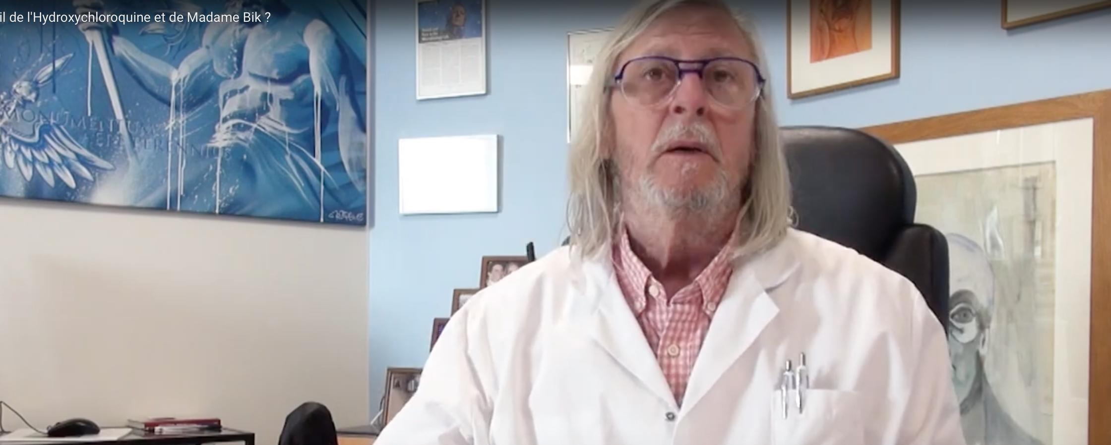 Pr Didier Raoult : qu'en est-il de l'Hydroxychloroquine et de Mme Bik ?