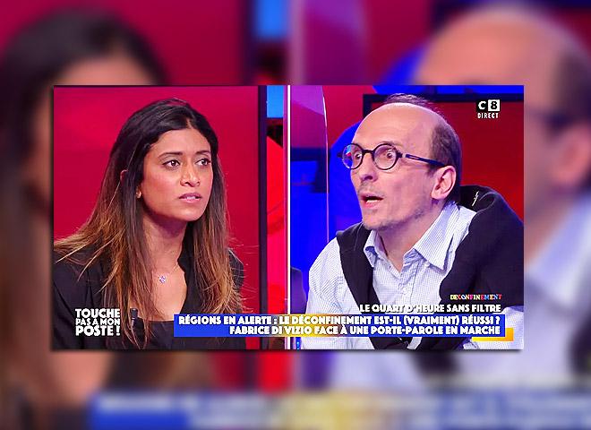Fabrice Di Vizio face à Prisca Thevenot : « Vous avez méprisé les soignants pendant un an »