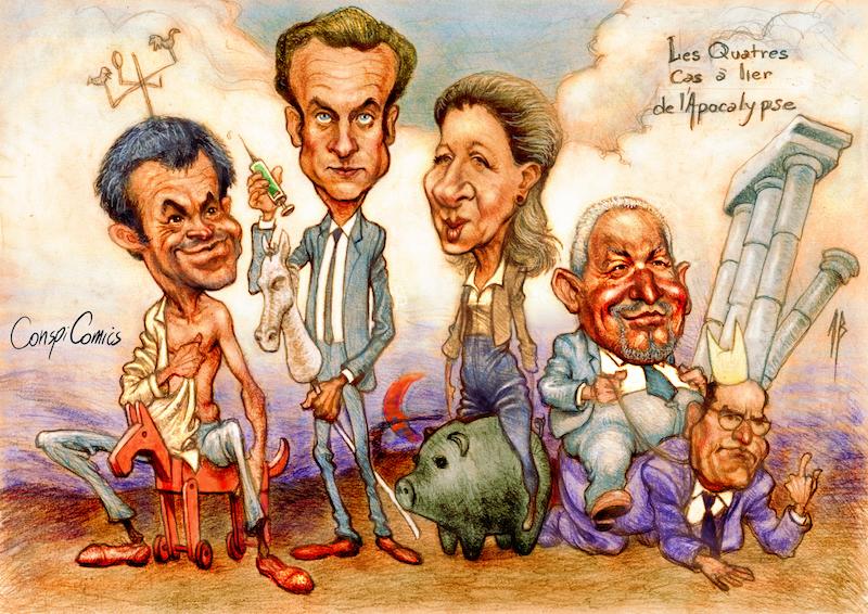 Les quatres de l'apocalypse par Conspi-Comics