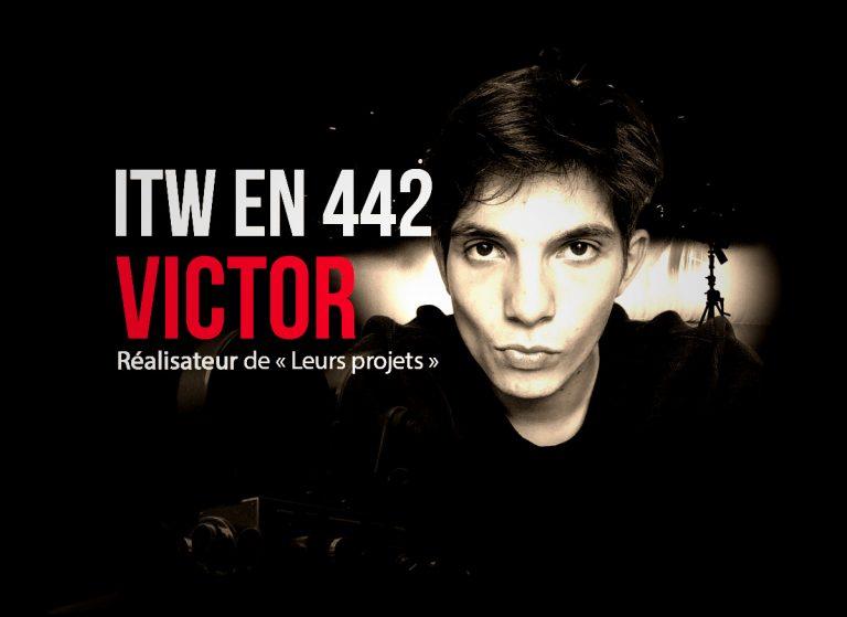 Victor : « Nous, les jeunes, avons été endormis par une société de service, de divertissement »