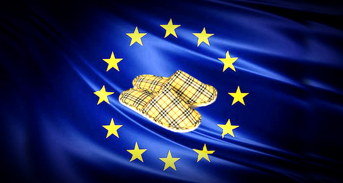 Les pantoufles dorées de la commission européenne