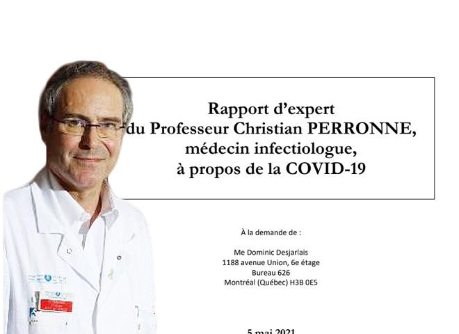 Covid-19 : état des lieux en France et au Québec, par le Pr Perronne