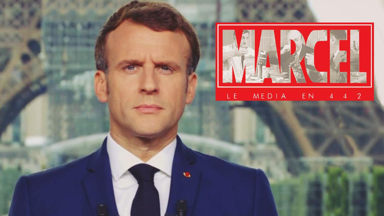 Marcel D. réagit à la mise en place de la dictature par Macron