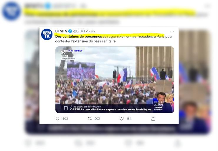 BFMTV ment pour cacher que le peuple est en train de gagner