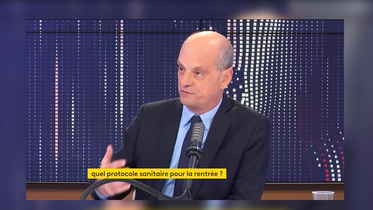 Jean-Michel Blanquer : S'il y a un cas covid-19, les élèves non vaccinés seront évincés, mais pas les vaccinés