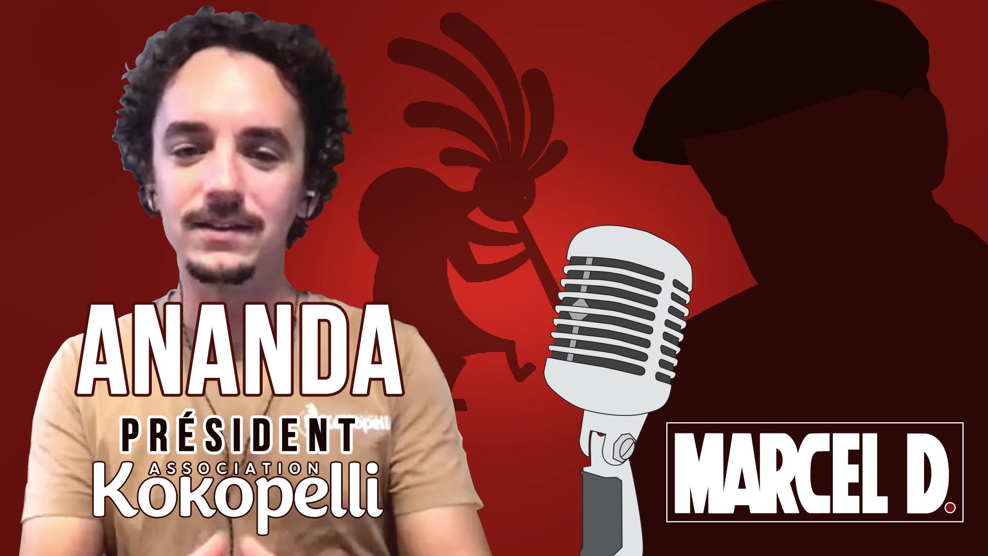 Marcel reçoit Ananda Guillet, président de Kokopelli : On n'imposera pas le masque aux centaines de personnes au sein de Kokopelli