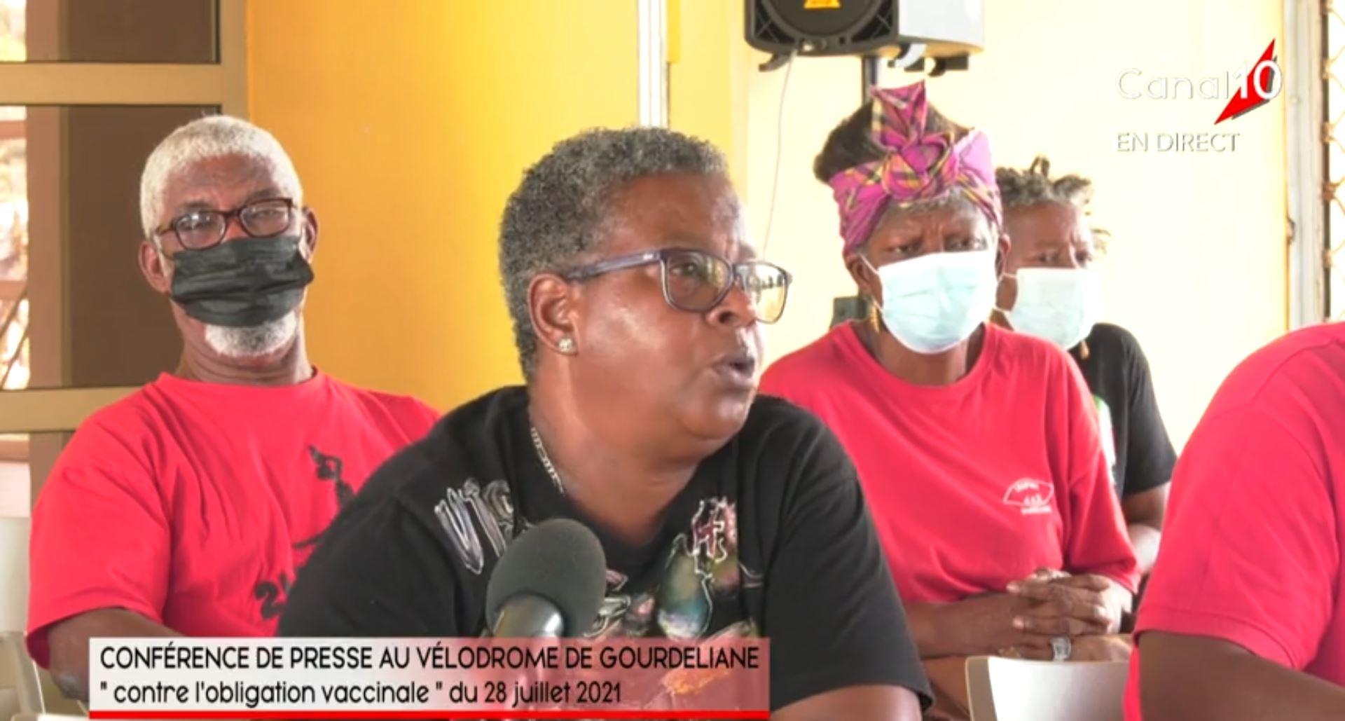 Syndicat UGTG en Guadeloupe : il y a 4 personnes en soins intensifs et toutes les 4 sont vaccinées